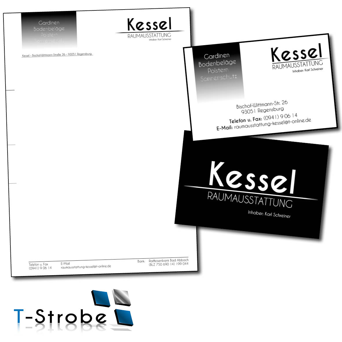 Printprodukte Von T Strobe Von Der Gestaltung Bis Hin Zum Druck